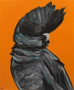 """Boofhead"" Acrylic on Canvas 610mm x 508mm $650"