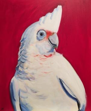 """""""Pretty Boy"""" Acrylic on Canvas 610mm x 508mm SOLD"""