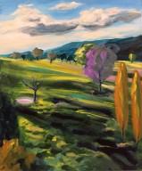 'Binda Sunset' Acrylic on Canvas 610mm x 508mm SOLD