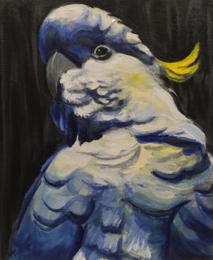 'The Shadow' Acrylic on Canvas 300mm x 250mm $400