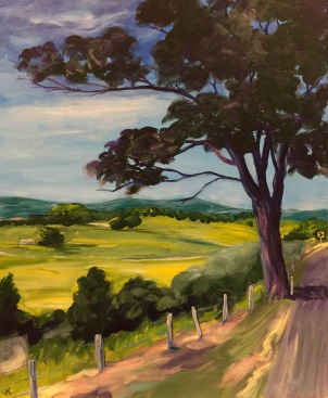 'The Road to Murwillumbah' Acrylic on Canvas 610mm x 508mm $700