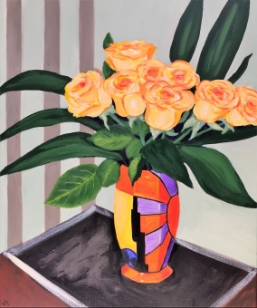 john-klein_yellow-roses-in-clarice-cliff-vase_2017