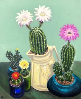 Cactus in a Kettle_John Klein_2018
